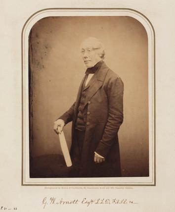George Walker Arnott, Scottish botanist, 1854-1859.