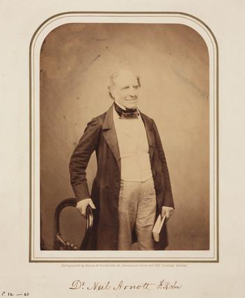 Neil Arnott, Scottish physician and inventor, 1854-1859.