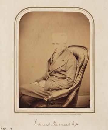 Edward Barnard, 1854-1866.
