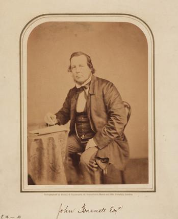 John Barnett, 1854-1866.