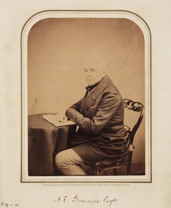A E Brande,  1854-1866.