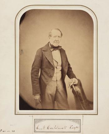 C A Caldwell, 1854-1866.