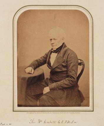 Sir William Cubitt, British civil engineer and inventor, 1854-1866.