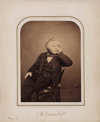 J B Denton, 1854-1866.