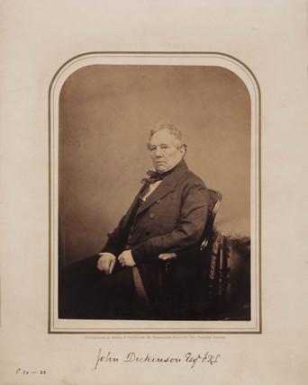 John Dickinson, 1854-1866.
