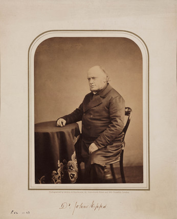 John Epps, homeopathic physician, 1854-1866.