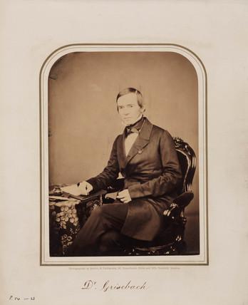 Rudolph Grisebach, German plant taxonomist, 1854-1866.