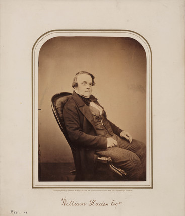 William Haden, 1854-1866.