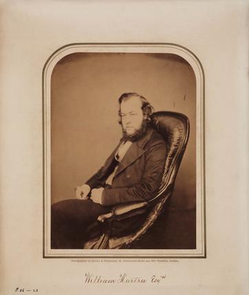 William Hartree, 1856-1865.