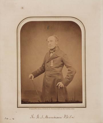 Sir Roderick Impey Murchison, Scottish geologist, 1854-1866.