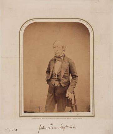 John Penn, English engineer, 1854-1866.
