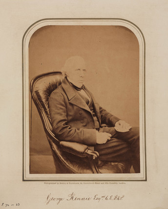 George Rennie, British railway and marine engineer, 1854-1866.