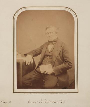 R Robertson, c 1854-1866.