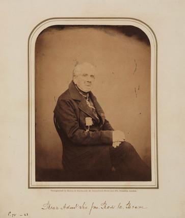 Sir John Ros, Scottish naval officer and explorer, 1854-1866.