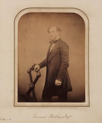 Samuel Statham, 1854-1866.
