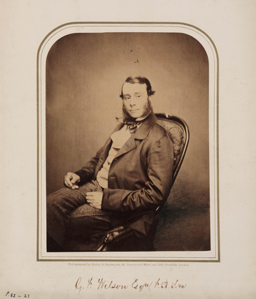 G J Wilson, c 1854-1866.