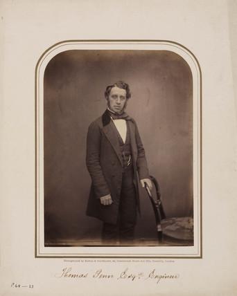 Thomas Penn, c 1854-1866.