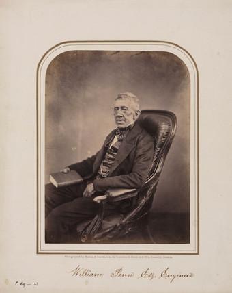 William Penn, engineer, 1854-1866.