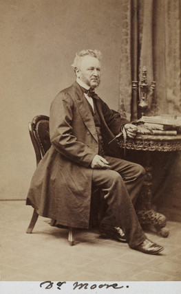 David Moore, Scottish botanist, c 1865.