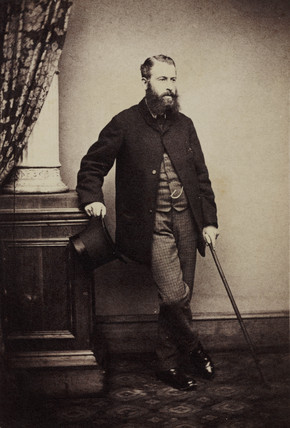 George Norman, 1862.