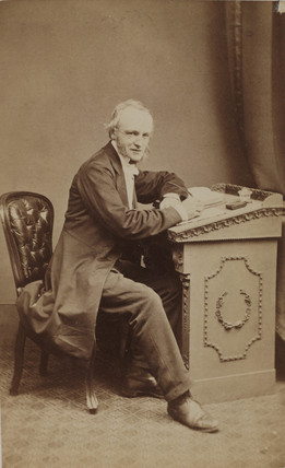 William Crawford Williamson, English naturalist, 1863.