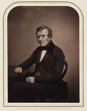 Sir Benjamin Collins Brodie, surgeon, 1854-1866.