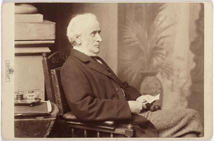 Ewan Christian, architect, c 1860.