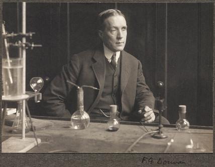 Frederick George Donnan, chemist, 1914.