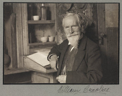 Sir William Crookes, English physicist and chemist, 1914.