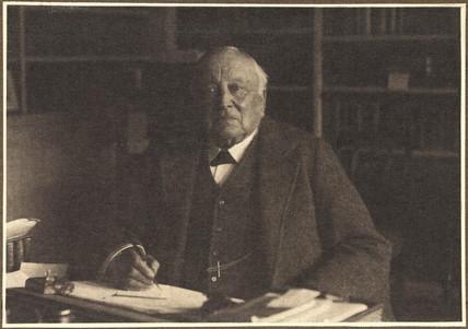 Henry Roscoe, English chemist, c 1914.