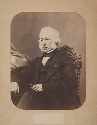 Robert Napier, Scottish marine engineer, c 1870.