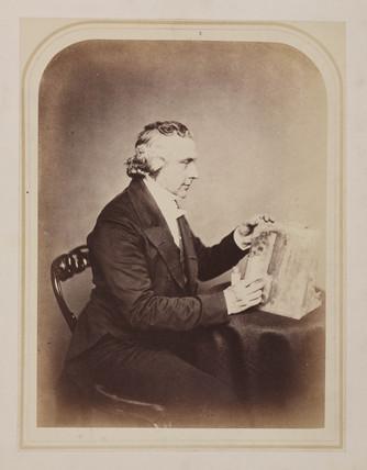 Reverend Joseph Bancroft Reade, English chemist and microscopist, c 1860s.