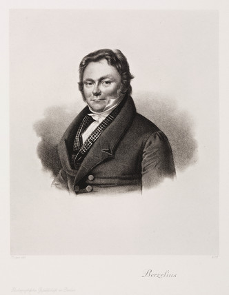 Jons Jacob Berzelius, Swedish chemist, c 1830s.