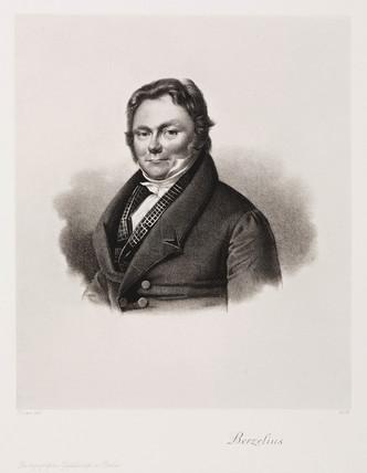 Jons Jacob Berzelius, Swedish chemist, c 1830s.
