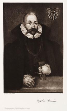 Tycho Brahe, Danish astronomer, late 16th century.