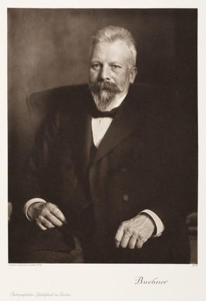 Eduard Buchner, German organic chemist, 1910.