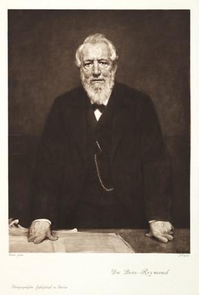 Emil du Bois-Reymond, Swis-German physiologist, c 1880s.