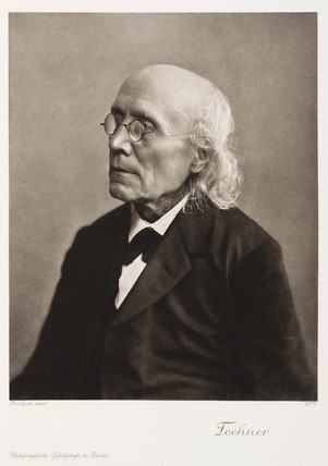 Gustav Theodor Fechner, German physicist and psychologist, c 1870s.