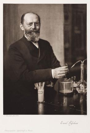 Emil Fischer, German organic chemist, c 1900s.