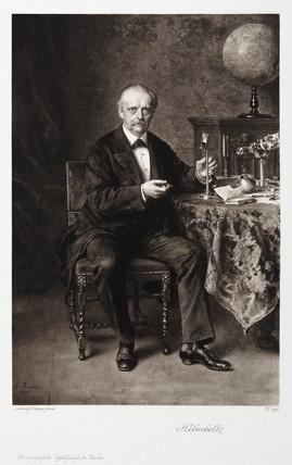 Hermann von Helmholtz, German physicist, 1881.