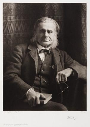 Thomas Henry Huxley, British biologist, c 1885-1893.
