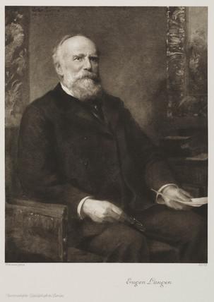 Eugen Langen, German engineer and businesman, late 19th century.