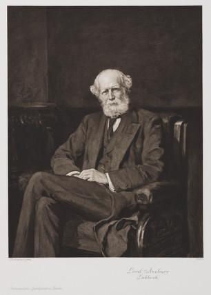 John Lubbock, Baron Avebury, c 1910.