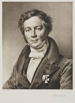 Eilhardt Mitscherlich, German chemist, c 1830-1840.