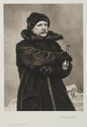 Nils Adolf Erik Nordenskjold, Swedish geologist and arctic explorer, c 1880s.