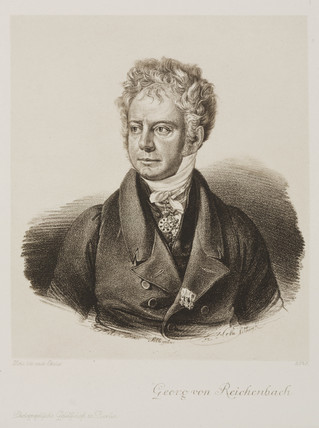 Georg von Reichenbach, German engineer and instrument-maker, c 1820.