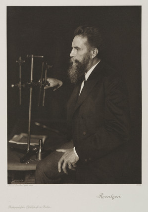 Wilhelm Roentgen, German physicist, 1906.