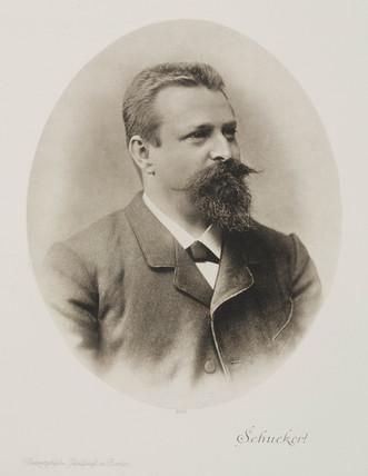 Siegmund Schuckert, German scientist, c 1880.