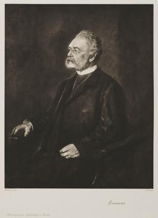 Werner von Siemens, German electrical engineer and inventor, c 1880.