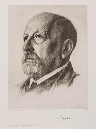 Eduard Sues, Austrian geologist, c 1900.